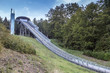 Leinwanddruck Bild - muelenkopf worldcup ski jump willingen in the summer
