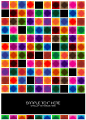 colorful bright squares background