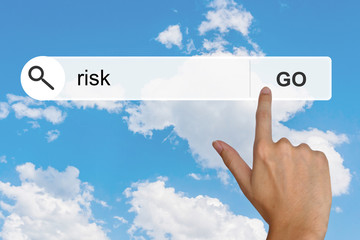 financial risk on search toolbar