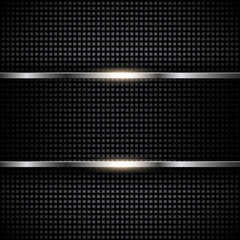 Abstract metal template background design
