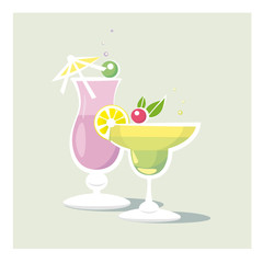 Two Cocktails