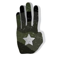 Military hand