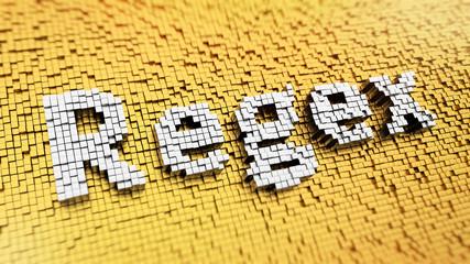 Pixelated Regex