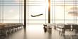 Leinwanddruck Bild - airplane