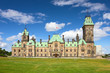 The East Block of Parliament Hill, Ottawa, Ontario, Canada