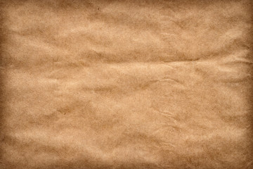 Recycle Brown Kraft Paper Crumpled Grunge Texture