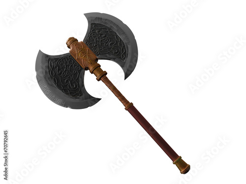 Old battle axe - 70792645