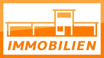 fs35 FactorySign - Immobilien - orange g1846 - 16 zu 9