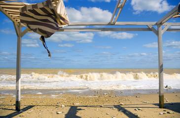 Beach after a storm