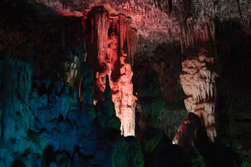 The Hams caves. Mallorca, Spain