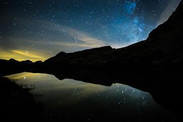 Les Aravis de nuit