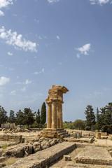 Santuario delle divinità Ctonie e Tempio dei Dioscuri - Agrigent