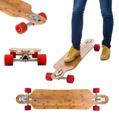 Skateboard longboard set