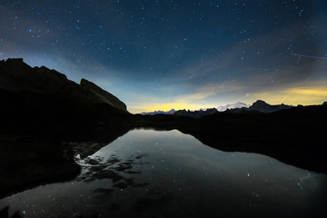 Aravis de nuit