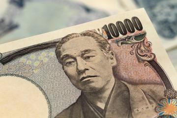 日本円 一万円 クローズアップ