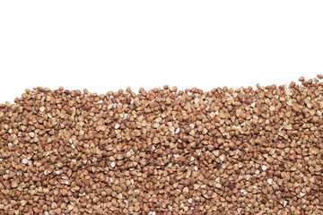 buckwheat with copy space
