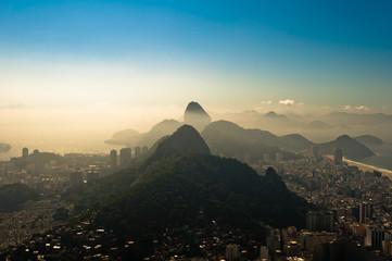 Rio de Janeiro in Morning Haze