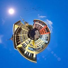 Stuttgart, Marktplatz - little Planet