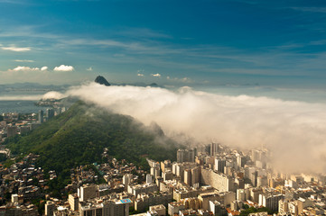 Low Clouds Above Rio de Janeiro