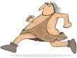 Running caveman