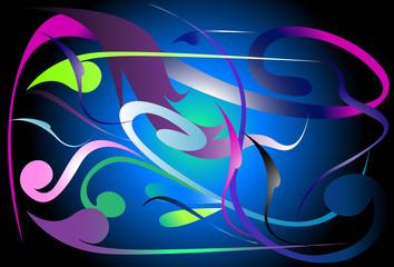background art thai