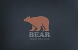 Bear Logo design vector template. Wild animal zoo icon - 70796412