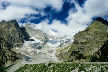 ghiacciaio monte bianco scioglimento ghiacci