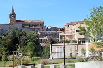 Jardin public des berges de l'Huveaune à Aubagne