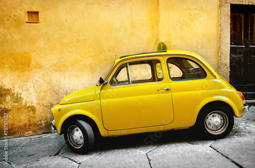 Fotobehang Vintage cars Italian old car