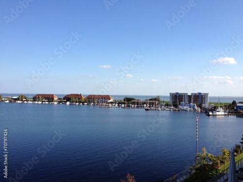 canvas print picture Wilhelmshaven Hafen