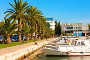 Hafen von Zadar, Kroatien