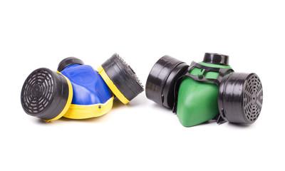 Two respirators.
