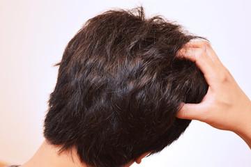 30代の男性の髪