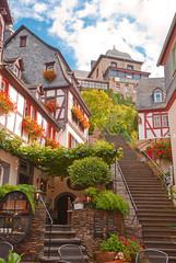 An der Klostertreppe in Beilstein an der Mosel
