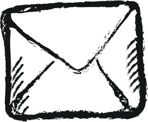 doodle envelope