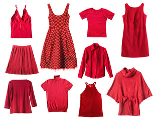 Red clothes