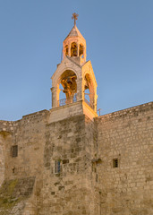 Holy Church of the Nativity Bell Tower, Bethlehem, Israel