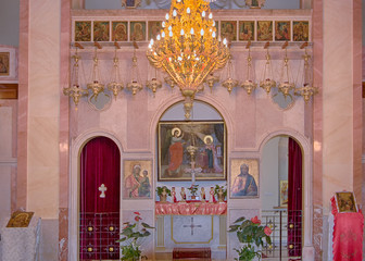 Greek Catholic Church (Melkites) of Nazareth, Israel