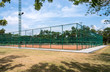 Tennis clay court. - 70803656