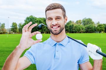 Successful golfer.