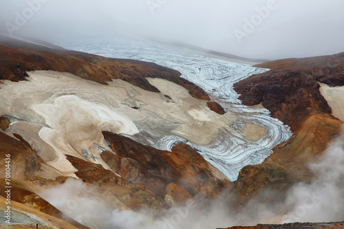 Staande foto Scandinavië Kerlingarfjoll geothermal area, Iceland