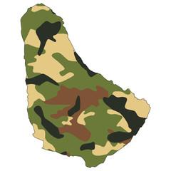 Camo texture in map - Barbados