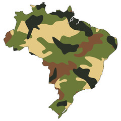Camo texture in map - Brazil