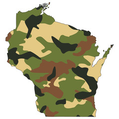 Camo texture in map - Wisconsin