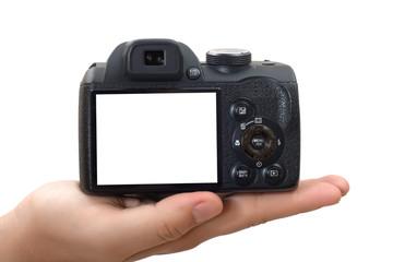 Elde Fotoğraf makinesi