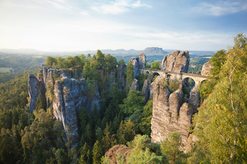 Dresden - Germany - Sandstone mountains