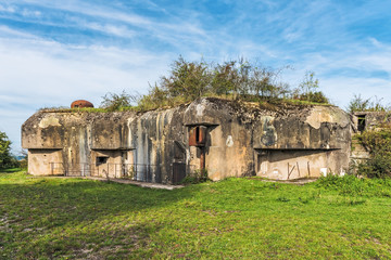 Welschhof bunker on the Maginot Line in Gros-Réderching