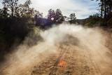 Dust on road - 70809662