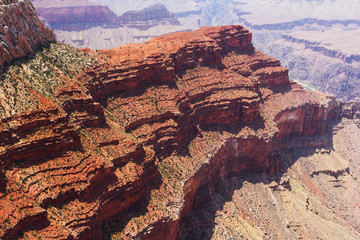 Shapes on Grand Canyon