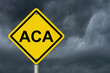 ACA Warning Sign